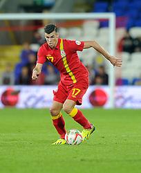 Gareth Bale of Wales (Real Madrid)  - Photo mandatory by-line: Joe Meredith/JMP - Tel: Mobile: 07966 386802 10/09/2013 - SPORT - FOOTBALL - Cardiff City Stadium - Cardiff -  Wales V Serbia- World Cup Qualifier