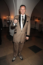 JOE CORRE at Chaos Point - a fashion show from Viienne Westwood's Gold Label Collection in aid of the NSPCC at The Banqueting House, London SW1 on 18th November 2008.