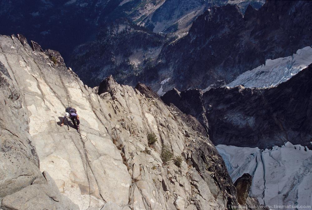 North Ridge of Mt. Stuart, Cascades.