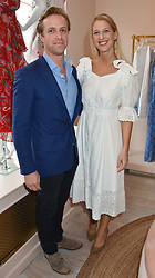 Lady Gabriella Windsor and Tom Kingston at the launch of the Beulah Flagship store, 77 Elizabeth Street, London England. 16 May 2018.
