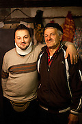 "Portrait of former refugee Elvis Causevic with his father Nedzib who is collecting herbs, producing and selling teas (""Planinski Caj"" - Mountain Tea) and mixtures as medicine for different health problems made with recipes from his grandfather. The family settled here after the war ended in Bosnia. Hadžići is a town and a municipality located about 20 km south west of Sarajevo city but within the Sarajevo Canton of Bosnia and Herzegovina. According to the census of 2013, Hadžići municipality has a population of 23,891 residents."