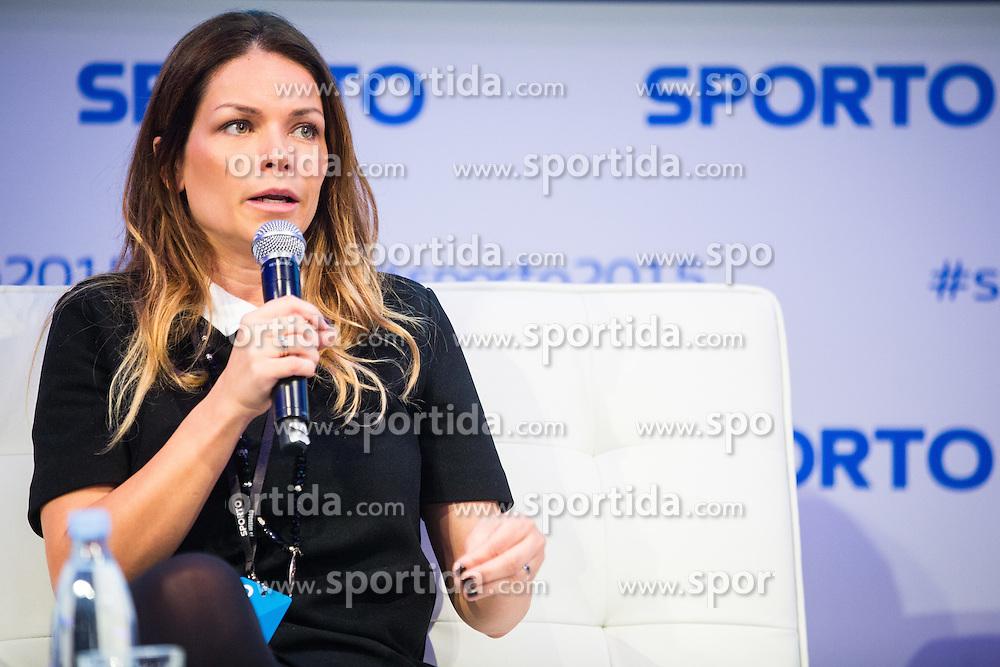 Aleksandra Radujko (PR Team Novak Đokovic) during Sports marketing and sponsorship conference Sporto 2015, on November 19, 2015 in Hotel Slovenija, Congress centre, Portoroz / Portorose, Slovenia. Photo by Vid Ponikvar / Sportida