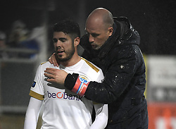 December 23, 2018 - France - Philippe Clement head coach of Genk and Alejandro Pozuelo midfielder of Genk (Credit Image: © Panoramic via ZUMA Press)