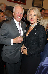 WINSTON & LUCE CHURCHILL at a private view of paintings by Rosita Marlborough (The Duchess of Marlborough) held at Hamiltons gallery, Carlos Place, London W1 on 9th November 2005.<br />