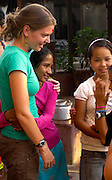 Maggie Doyne at the Kopila Valley Childrens Home, Surkhet, Nepal