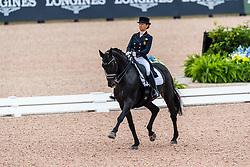 Davydova Evgenija, RUS, Awakening<br /> World Equestrian Games - Tryon 2018<br /> © Hippo Foto - Stefan Lafrentz<br /> 12/09/2018