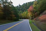 October 10, 2017: The drive into Gatlinburg, TN.