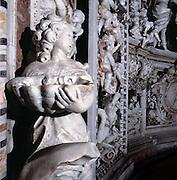 Palermo, &quot;Del Gesu'&quot; church, statue by Gioacchino Vitaliano.<br /> Palermo, chiesa del Gesu', Casa Professa, statua opera di Gioacchino Vitaliano.