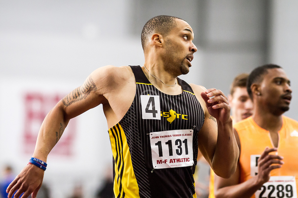 Boston University John Terrier Classic Indoor Track & Field: mens 500 meters, heat 1, GSTC