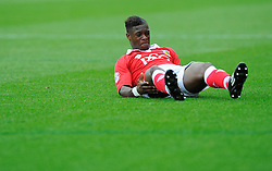 Bristol City's Kieran Agard  - Photo mandatory by-line: Joe Meredith/JMP - Mobile: 07966 386802 - 27/09/2014 - SPORT - Football - Bristol - Ashton Gate - Bristol City v MK Dons - Sky Bet League One