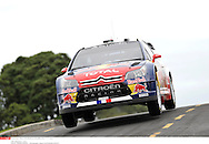 LOEB SEBASTIEN..CITROEN C4 WRC..NEW ZEALAND RALLY 2010 *** Local Caption *** loeb (sebastien) - (fra) -