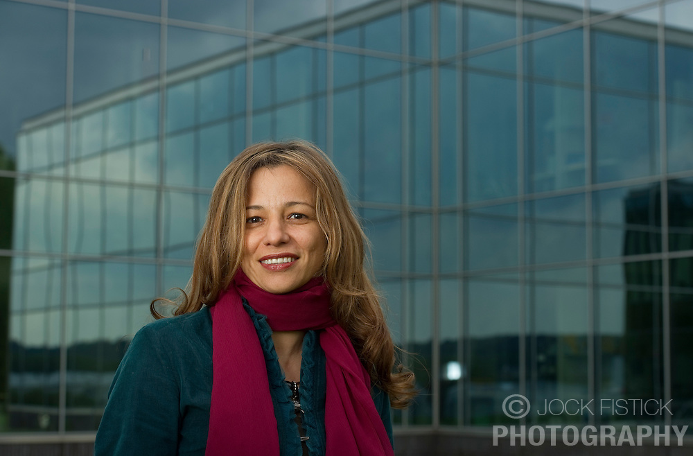 Claudia Prada, at the UCB offices in Braine-l'Alleud, near Brussels, Belgium, on Friday, May 14, 2010. (Photo © Jock Fistick)
