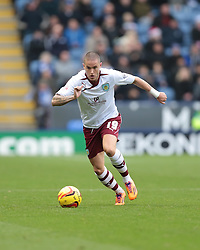 Burnley's Michael Kightly - Photo mandatory by-line: Nigel Pitts-Drake/JMP - Tel: Mobile: 07966 386802 14/12/2013 - SPORT - Football - Leicester - King Power Stadium - Leicester City v Burnley - Sky Bet Championship