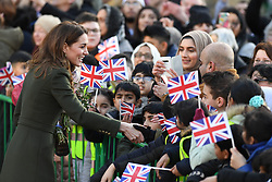 The Duke and Duchess of Cambridge visit City Hall in Bradford's Centenary Square and meet the people in Bradford, Yorkshire, UK, on the 15th January 2020. 15 Jan 2020 Pictured: The Duke and Duchess of Cambridge visit City Hall in Bradford's Centenary Square and meet the people in Bradford, Yorkshire, UK, on the 15th January 2020. Photo credit: James Whatling / MEGA TheMegaAgency.com +1 888 505 6342