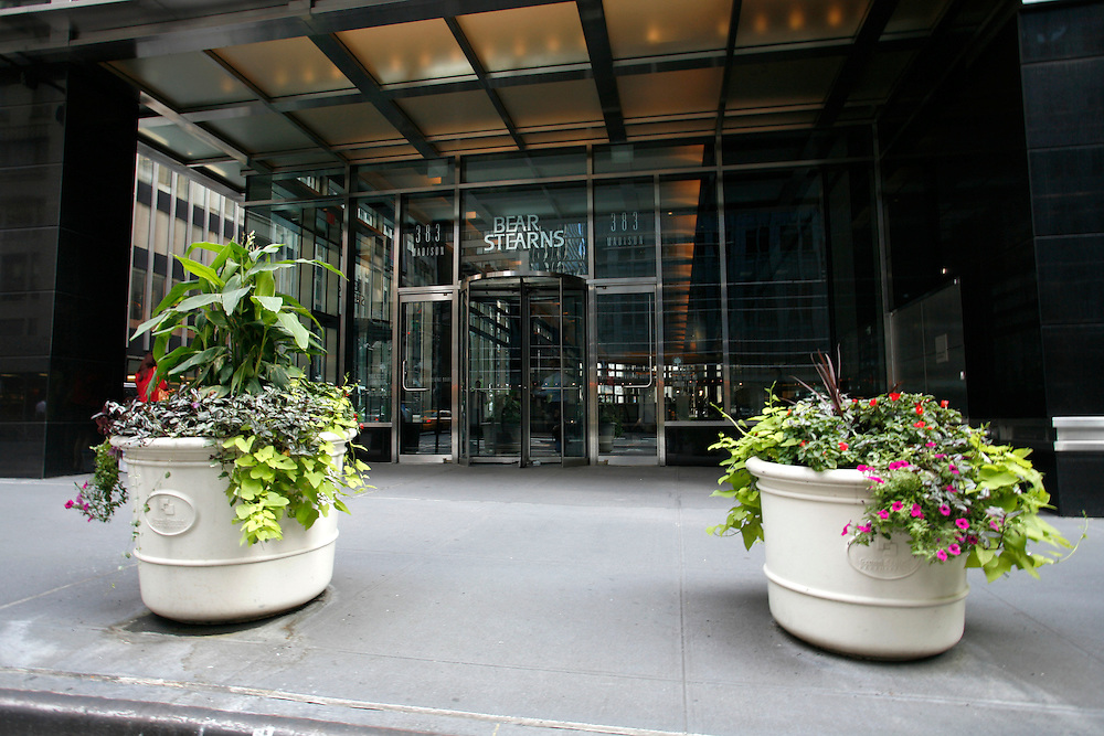 The Bear Stearns offices at 383 Madison Avenue .. Tuesday August 14.2007..