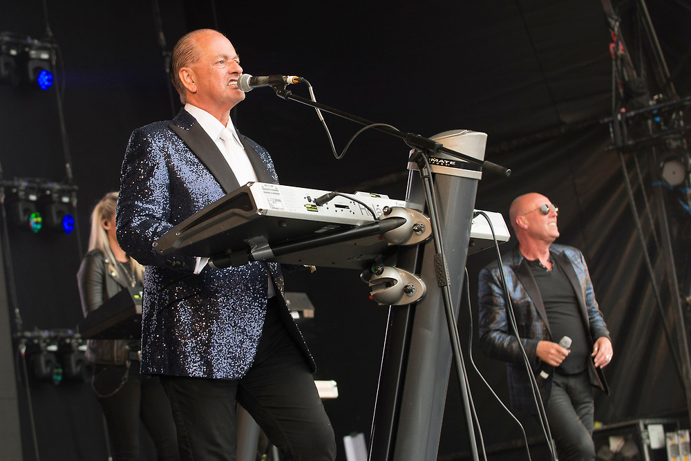 Heaven 17 in concert at Lets Rock Scotland, Dalkeith Country Park, Edinburgh, Great Britain 23rd June 2018