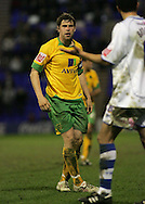 Tranmere - Friday, April 2nd, 2010: Grant Holt of Norwich City protests for being fouled by Marlon Broomes of Tranmere Rovers during the Coca Cola League One match at Prenton Park, Tranmere. (Pic by Michael Sedgwick/Focus Images)