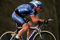 Sykkel. Criterium International. 30.03.2002.<br />Lance Armstrong fra USA. US Postal.<br />Foto: Olivier Labalette, Digitalsport