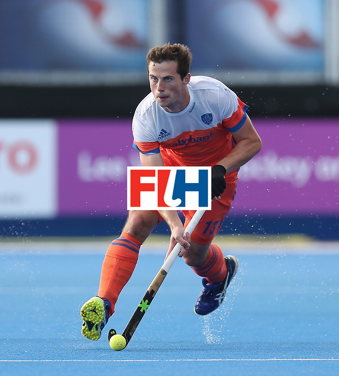 LONDON, ENGLAND - JUNE 15: Sander Baart of the Netherlands during the Hero Hockey World League Semi Final match between Netherlands and Pakistan at Lee Valley Hockey and Tennis Centre on June 15, 2017 in London, England.  (Photo by Alex Morton/Getty Images)