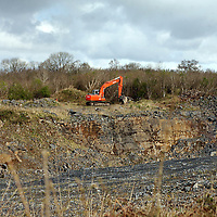 Ruan Quarry.<br /> Photograph by Yvonne Vaughan