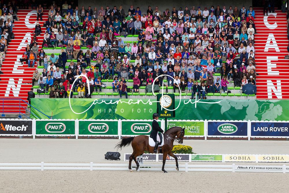Anna Merveldt, (IRL), Vancouver - Grand Prix Team Competition Dressage - Alltech FEI World Equestrian Games&trade; 2014 - Normandy, France.<br /> &copy; Hippo Foto Team - Leanjo de Koster<br /> 25/06/14