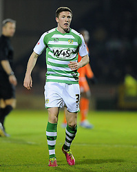 Yeovil Town's John Lundstram - Photo mandatory by-line: Joe Meredith/JMP - Tel: Mobile: 07966 386802 03/12/2013 - SPORT - Football - Yeovil - Huish Park - Yeovil Town v Blackpool - Sky Bet Championship