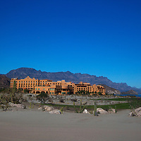 Mexico, Baja California Sur, Loreto. Villa del Palmar Loreto, a secluded resort hotel and timeshare property.