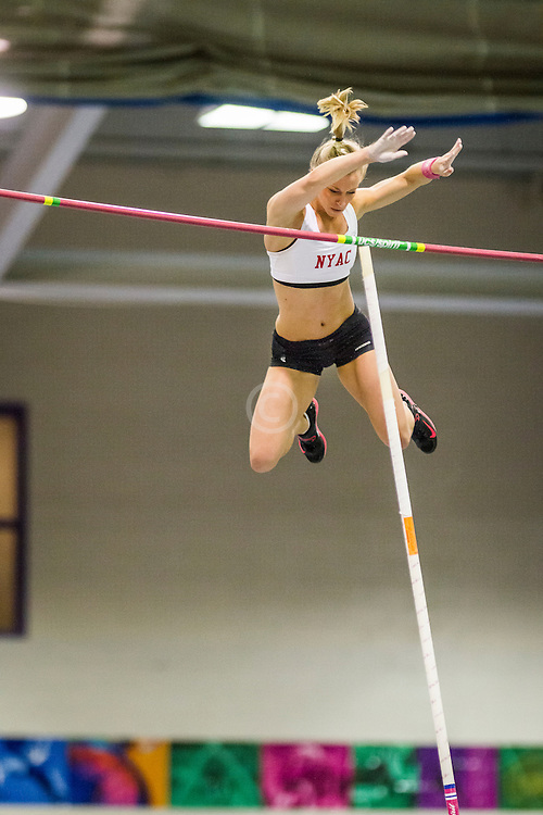 New Balance Indoor Grand Prix Track, womens pole vault, Mary Saxer