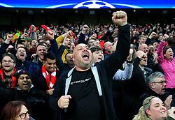 Liverpool fans celebrate at full time - Mandatory by-line: Matt McNulty/JMP - 10/04/2018 - FOOTBALL - Etihad Stadium - Manchester, England - Manchester City v Liverpool - UEFA Champions League Quarter Final Second Leg