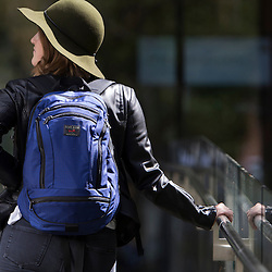 April 14, 2016; Seattle, WA USA; Tom Bihn bags: Synapse 19 and Daylight in Halcyon. Credit: Joe Nicholson Photography