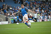 Chesterfield players warm up during the Pre-Season Friendly match between Chesterfield and Rotherham United at the b2net stadium, Chesterfield, England on 25 July 2017. Photo by John Potts.