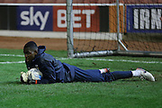 Coventry City goalkeeper Reice Charles-Cook (23)  during the Sky Bet League 1 match between Barnsley and Coventry City at Oakwell, Barnsley, England on 1 March 2016. Photo by Simon Davies.