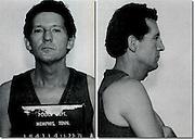 Jerry Lee Lewis Mug Shot- Memphis Police-Arrested Date Unk.