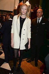 JADE PARFITT at the Kent and Curwen London Flagship Launch, Saville Row, London on 6th November 2013.