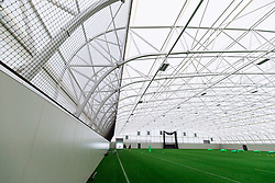 General View of the indoor training barn as Bristol Bears start to use their new almost completed Training centre - Rogan/JMP - 08/07/2020 - RUGBY UNION - Beggar Bush Lane - Bristol, England.