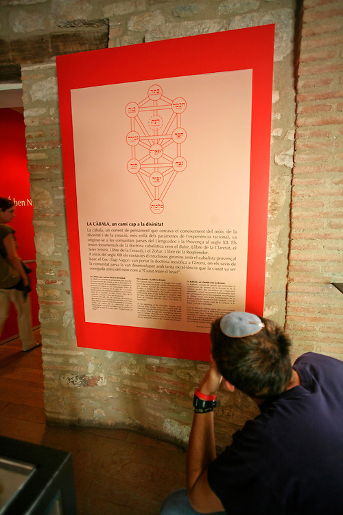 The Call Jueu. Jewish museum in the Jewish quarter of girona.
