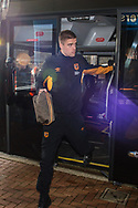 Markus Henriksen of Hull City arrives at Ewood Park, Blackburn ahead of during the FA Cup match between Blackburn Rovers and Hull City<br /> Picture by Matt Wilkinson/Focus Images Ltd 07814 960751<br /> 06/01/2018