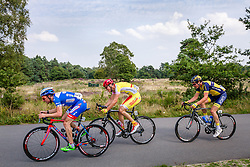 Frederique Robert (BEL,WGG), Ga&euml;tan Pons (BEL,WBC) and Taco van der Hoorn (NED,RIJ) during the Arnhem - Veenendaal Classic at Posbank, Rheden, Gelderland, The Netherlands, 21 August 2015.<br /> Photo: Thomas van Bracht / PelotonPhotos.com