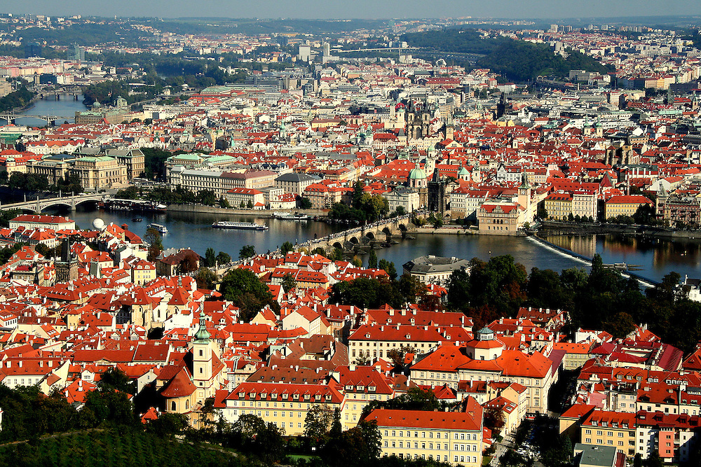 Prague (Praha) is the capital and largest city of the Czech Republic, in the north-west of the country on the Vltava river, home to about 1.3 million people