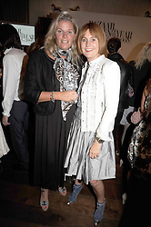 Left to right, BELLE ROBINSON and MARY PORTAS at the Harper's Bazaar Women of the Year Awards 2008 at The Landau, The Langham Hotel, Portland Place, London on 1st September 2008.<br /> <br /> NON EXCLUSIVE - WORLD RIGHTS
