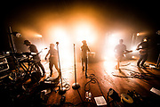 Underoath practice during tech rehearsals for their Rebirth Tour on March 15, 2016 at State Theatre in St. Petersurg, Florida