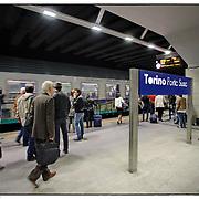 Stazione di Porta Susa, Torino .