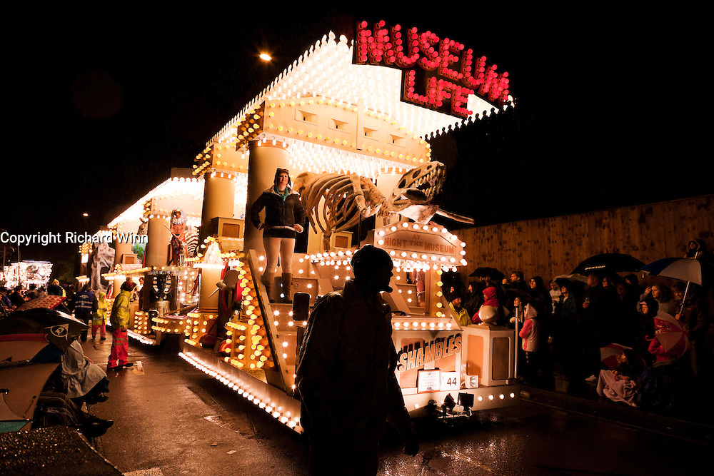 Photo of Museum Life, by Shambles CC, at the 2010 Bridgwater Guy Fawkes Carnival.
