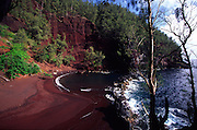 Red Sand Beach, Hana, Maui, Hawaii<br />