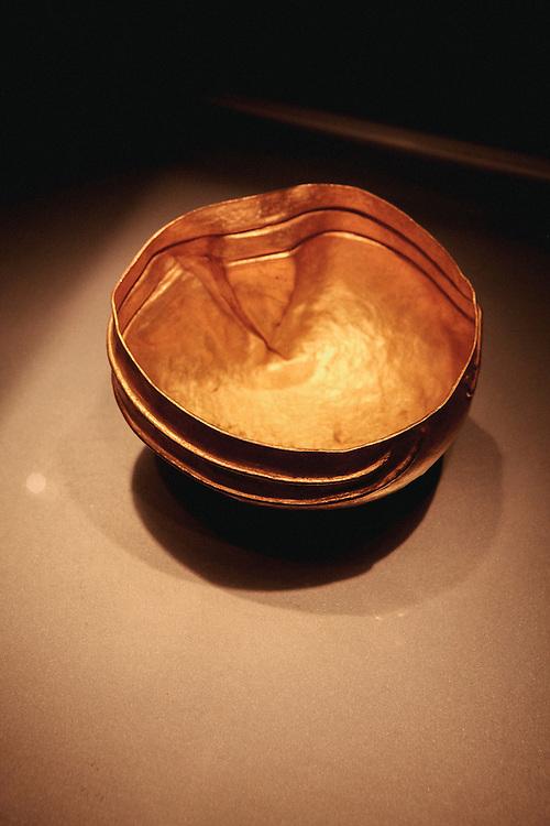 Gold artifacts at Ayala Museum, Manila