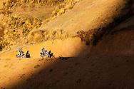 Motorcyle adventure touring around the Cumbre de Animas and the Muela del Diablo near La Paz, Bolivia.