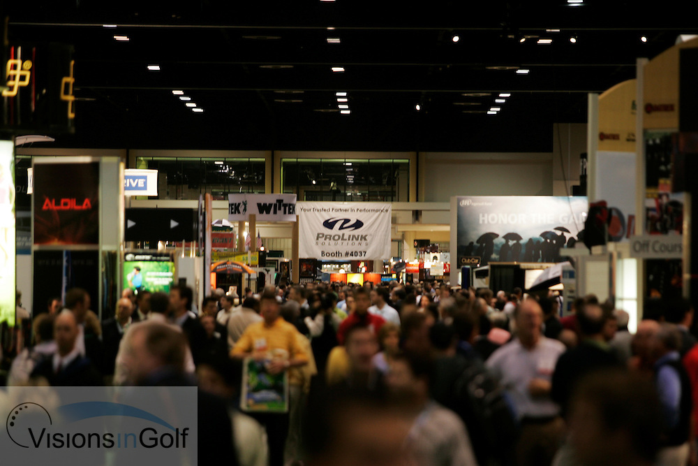 The PGA Merchandise Show 2007, Orlando, Florida, USA. 240107 <br /> Picture Credit: Mark Newcombe / visionsingolf.com