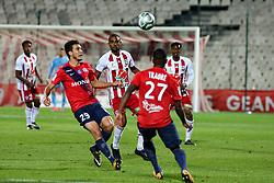 November 3, 2017 - Ajaccio, France - Yann BOE KANE (ACA) vs Mehdi MERGHEM  (Credit Image: © Panoramic via ZUMA Press)