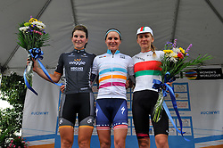 The stage of the June 5th, 2016 UCI Women's World Tour Philadelphia Cycling Classic. Pro-cyclist compete the 73.8miles/118.7km course in Philadelphia Pennsylvania