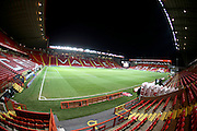 Charlton Athletic Football Stadium, The Valley during the Sky Bet Championship match between Charlton Athletic and Brighton and Hove Albion at The Valley, London, England on 10 January 2015.